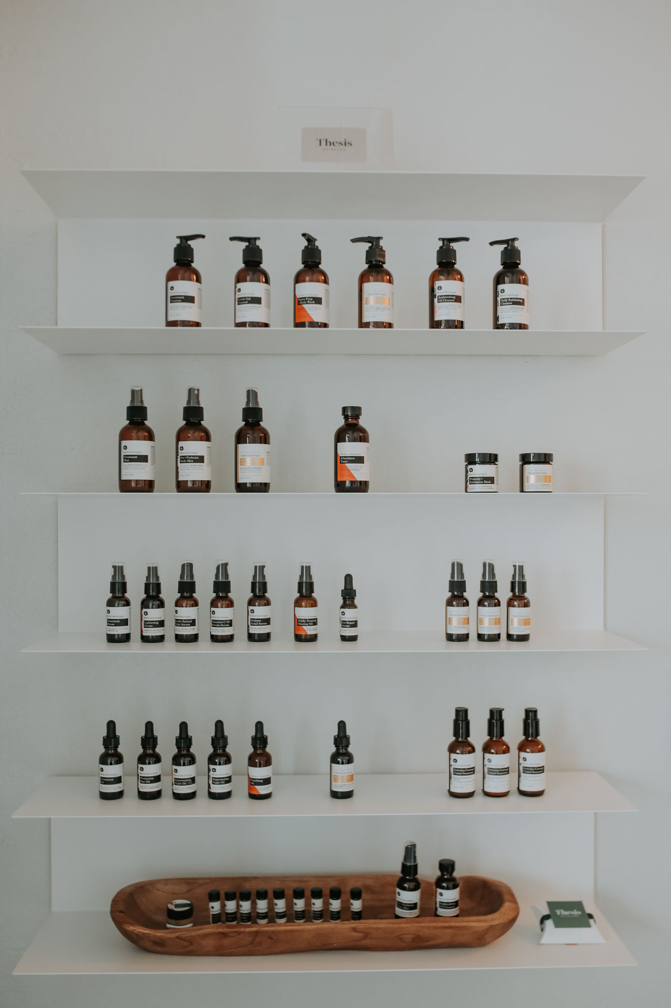 - When choosing the line that would be utilized at Thesis, a few things were driving factors; sustainability, results oriented and consciousness of true skin science. I needed a line packed with honest ingredients that brought real health to the skin. Marie Veronique approaches skin care in a cutting-edge way by stepping back and respecting our bodies largest organ, to meet its needs and not try to alter it.Out of Berkeley, CA working in small batch production, this line truly is unique. There are options that help ranging from barrier disfunction, acne, rosacea and through all this anti-aging is a beneficial by product (whoop whoop!).I am beyond excited to bring this product to Montana!*pic by our friend Abigail Maki Photography