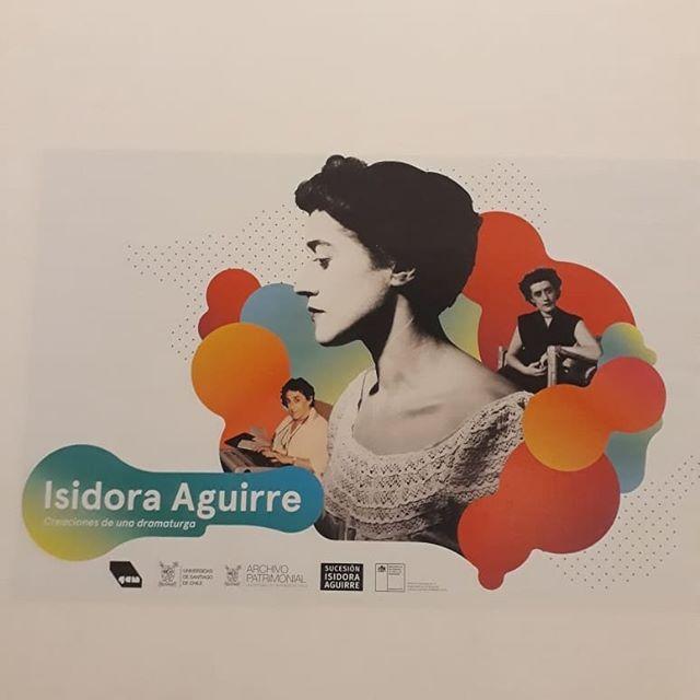 Hoy fue la inauguración de la tremenda exposición de Isidora Aguirre del Archivo Patrimonial USACH. Les recomendamos conocer el hermoso trabajo que han hecho!  #teatrochileno  #archivos  #archivosdeautor  #archivosdeartesescenicas