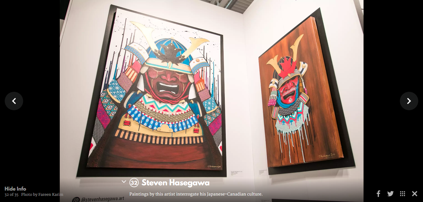 blogTO - So excited and happy to find out that my artwork was posted on blogTO. Thank you blogTO!! https://www.blogto.com/arts/2019/02/artist-project-2019-toronto/