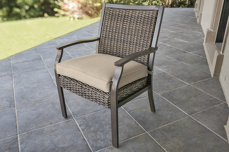Trenton Dining Chair with Seat Cushion