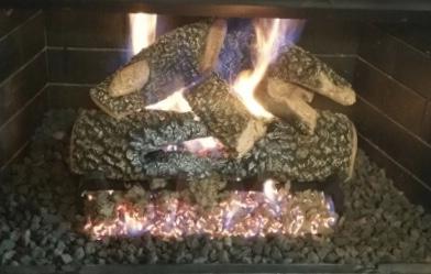 "Texas Bonfire Char Gas Logs 21"""