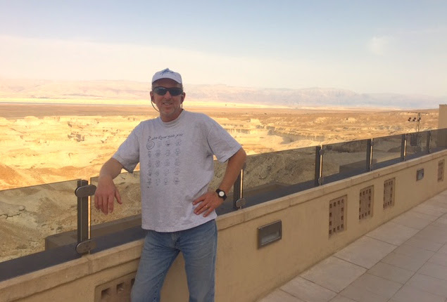 At Masada