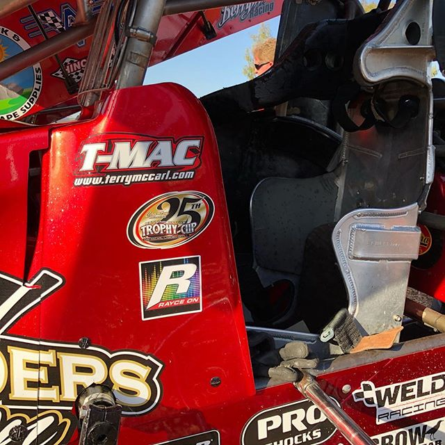 Here's one of our favorite throwbacks. Thank you @tmacmotorsports for supporting the @raycerudeenfoundation by displaying a decal on your car at Trophy Cup last week! #throwbackthursday #tbt #trophycup #trophycup25
