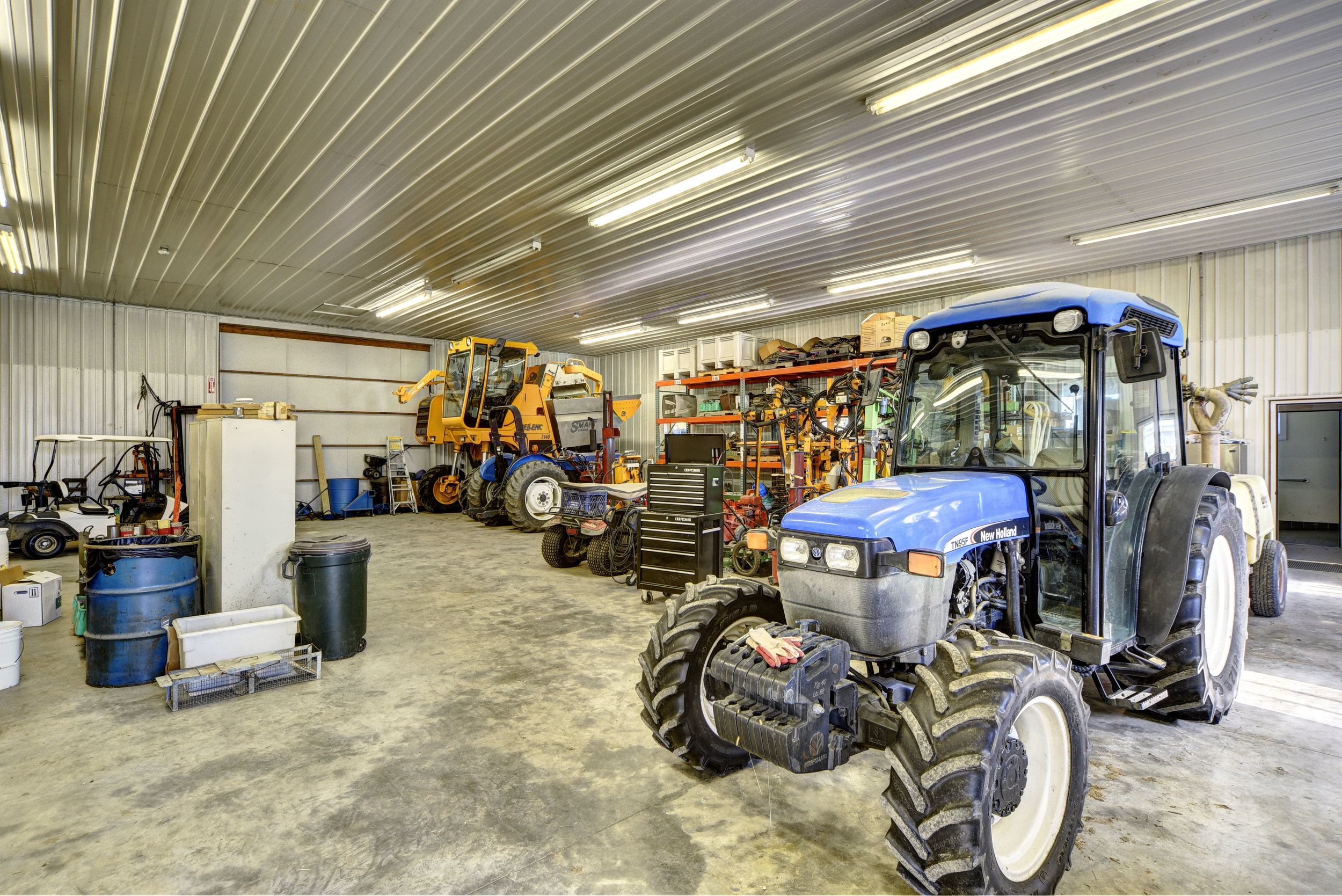 Equipment Storage -
