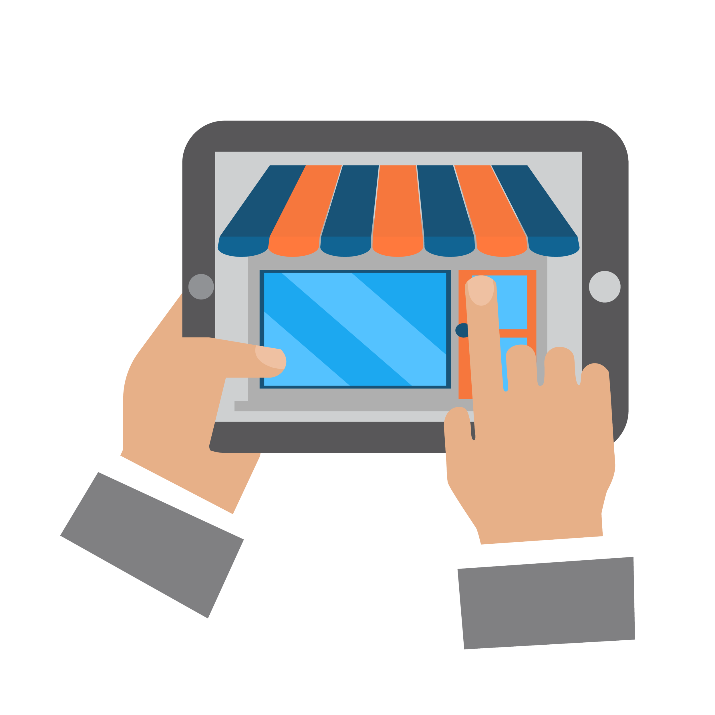 A product listing that will drive the purchase decision.