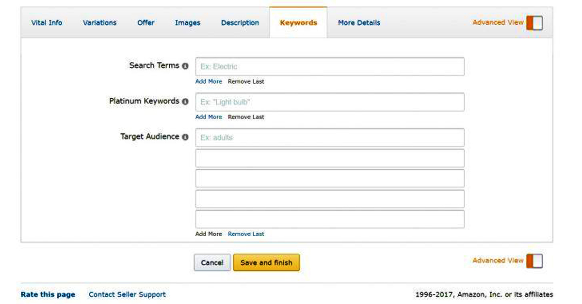 """These are keywords that are popular in your niche. Let's say that you're selling women's shoes. If you type that phrase on the search term bar, you'll find that keywords like """"women's boots"""", """"ladies' footwear"""", and """"dress shoes"""" are popular in your niche, too.  This information is important because it helps you determine which keywords to focus when you're creating your Amazon PPC ads or doing a little SEO (search engine optimization) work on your product description."""