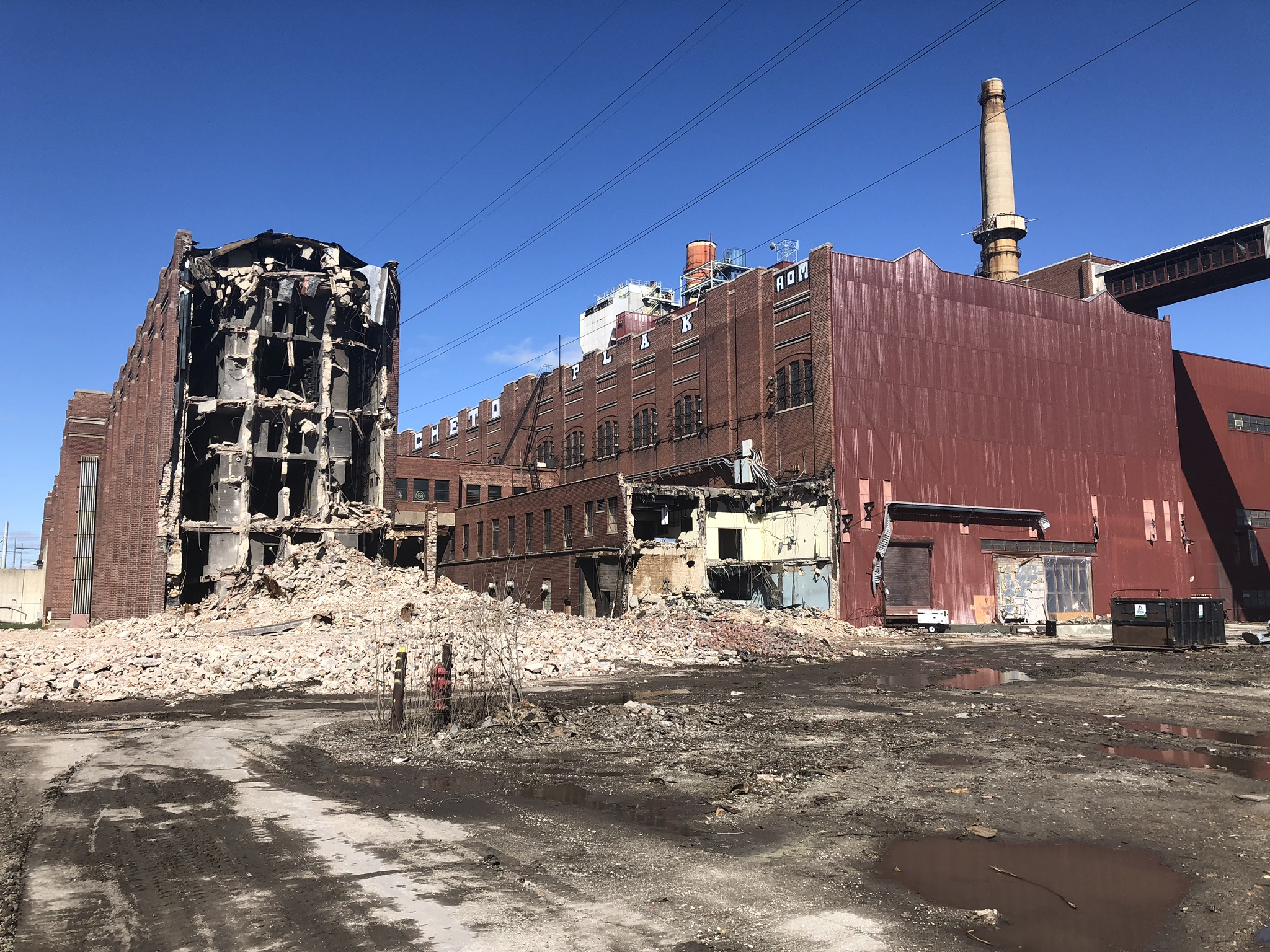 Demolition April 2019