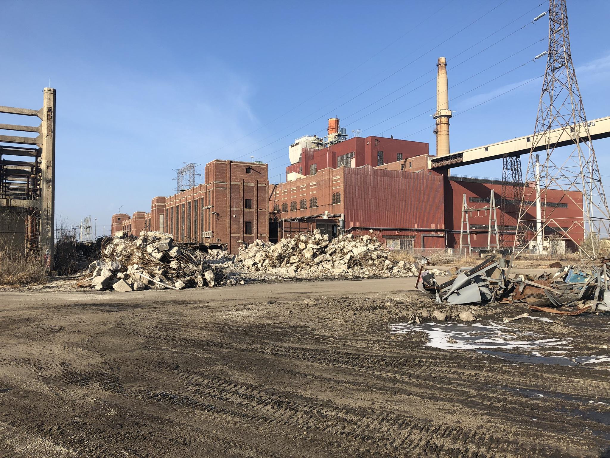 Demolition December 2019