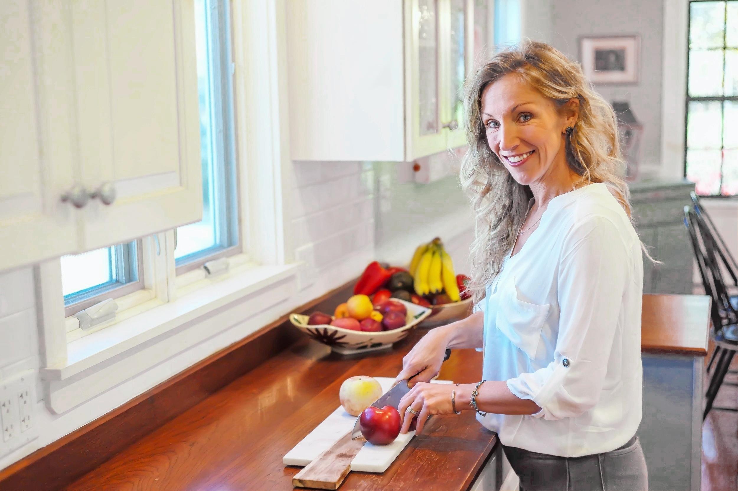 NourishRX Founder Ryann, Registered Health Dietitian and Nutrition Counselor in Beverly, Massachusetts
