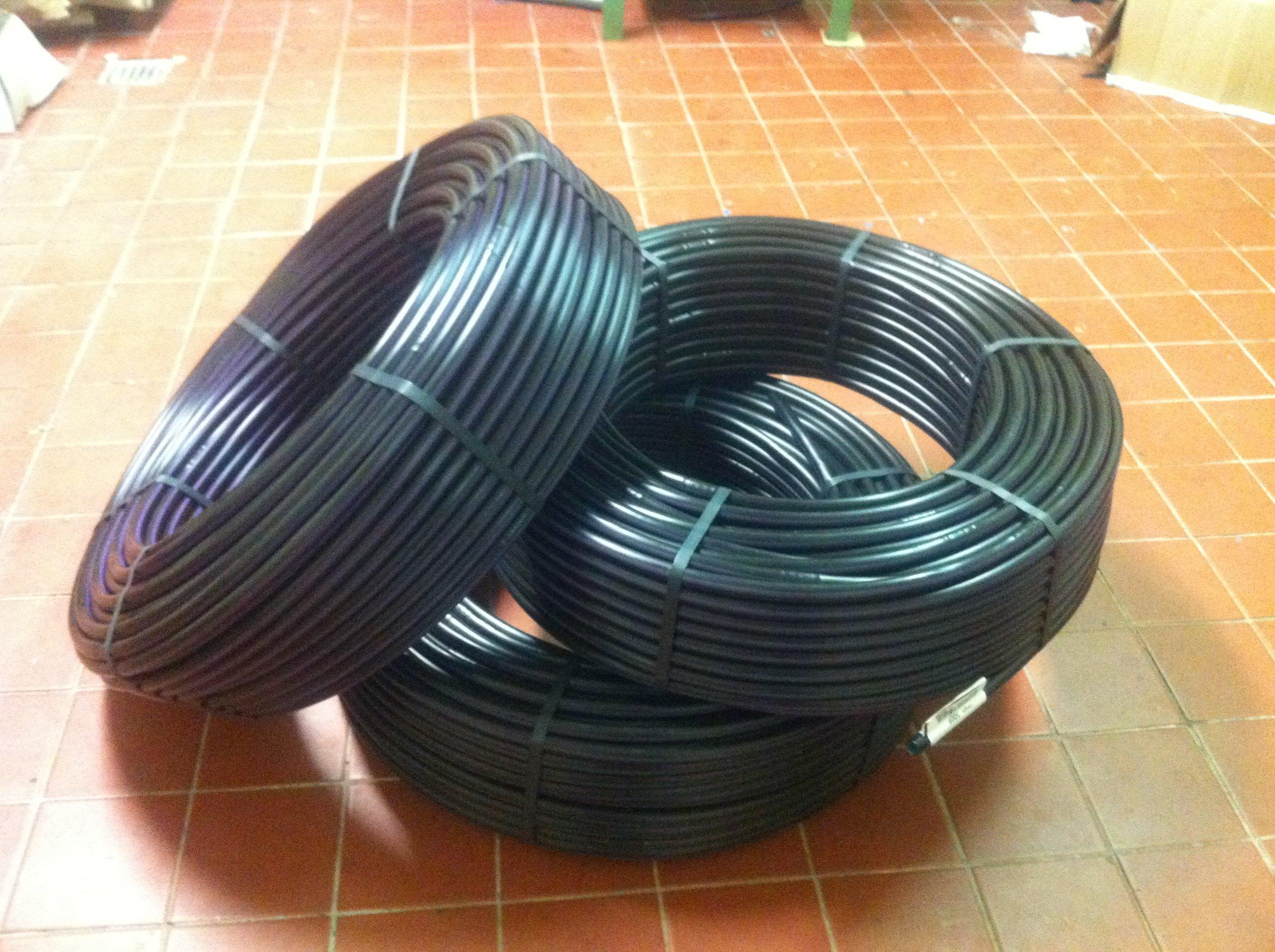 Rolls of Geoflow Drip Tubing