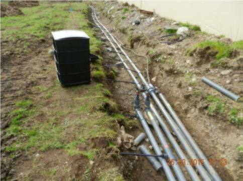 Drip Project Housing Estate - pipework