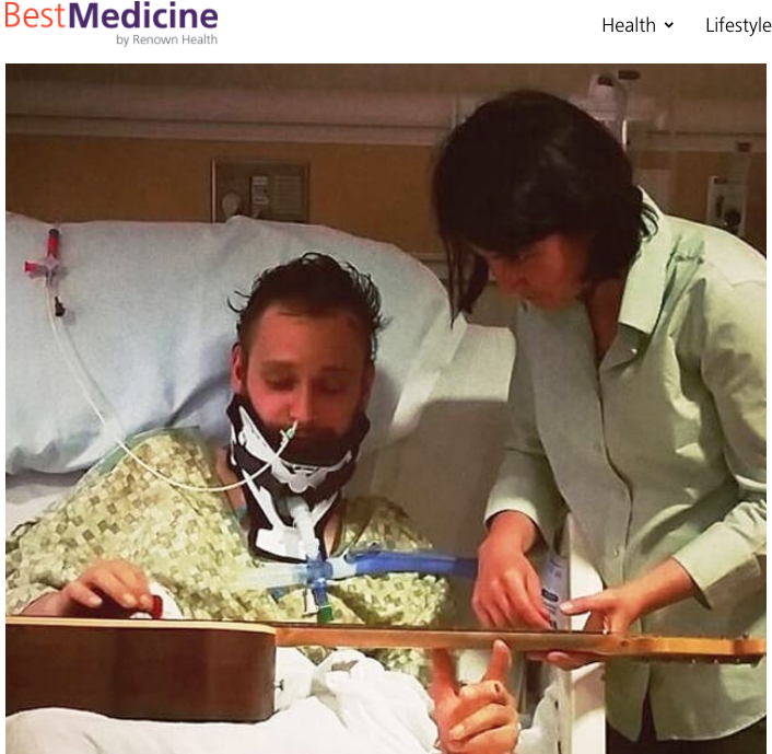 BestMedicine: Music Helps to Heal Hit-and-Run Patient