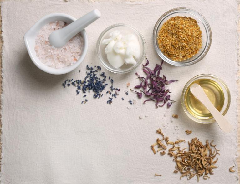 Organic, natural and vegan products