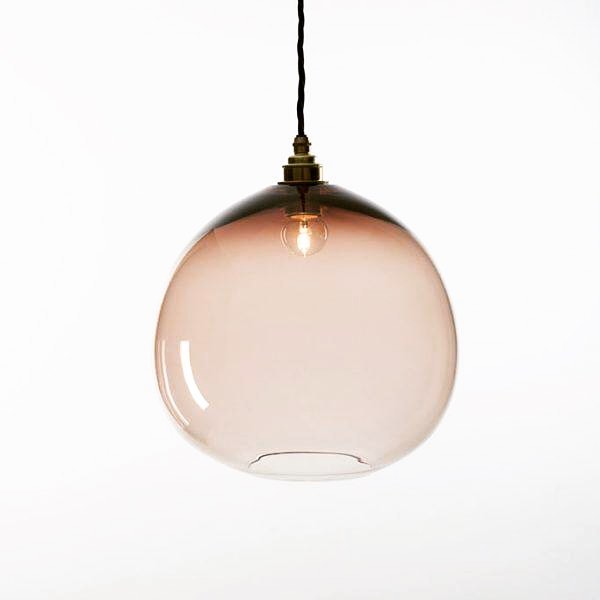 Loving these Monmouth Pendant lights - these are simply gorgeous and will add elegance to both contemporary and classic styles #monmouthglassstudio #elegantlighting #handblownglass #glasspendants