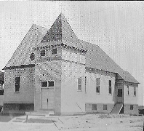 First Reformed Church's original building.