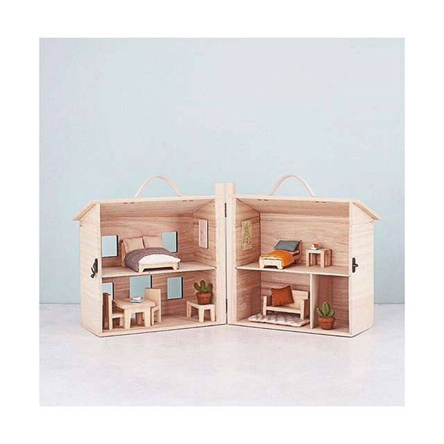 No home is complete without furniture! We are in love with these room sets by @olliella 💕 Available at the showroom!  #dollhouse #kidsroomdecor #kidsroom #woodentoys #enfantterrible