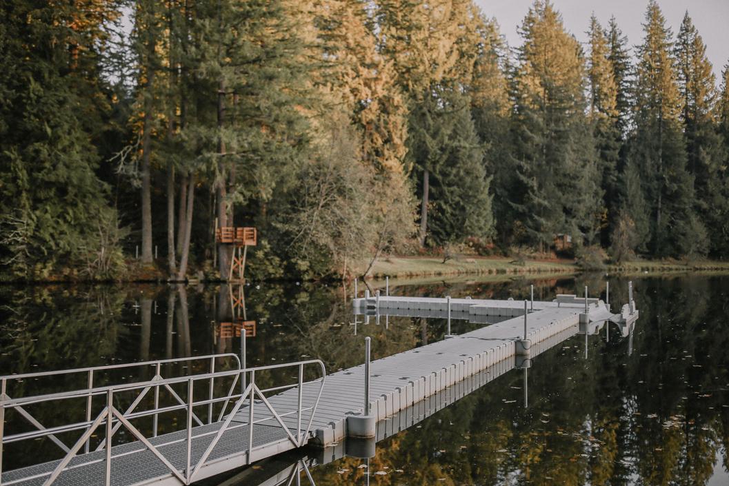 Sunset Lake Dock