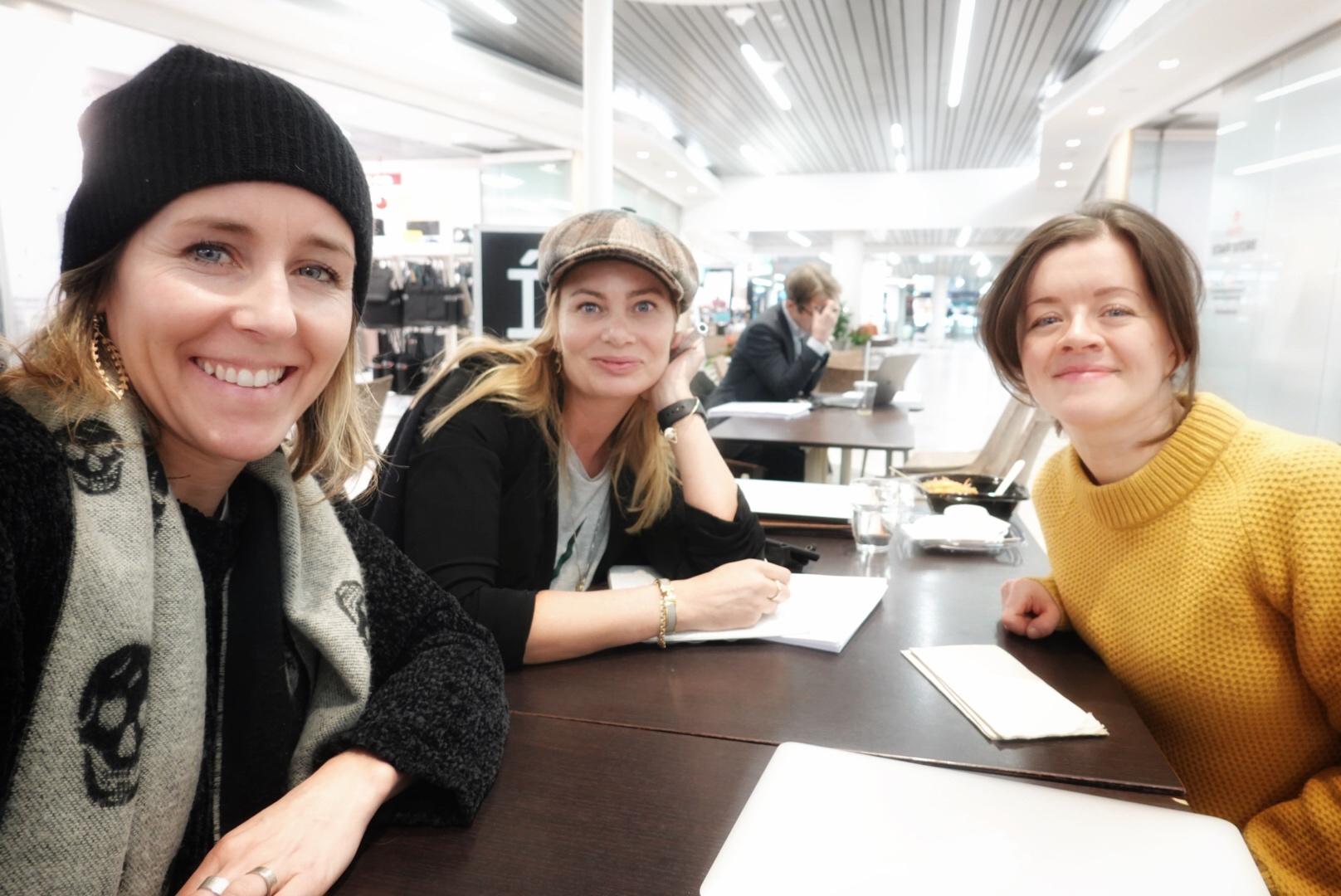 Future Fridays Karin & Linda with Petra CEO Kurbits
