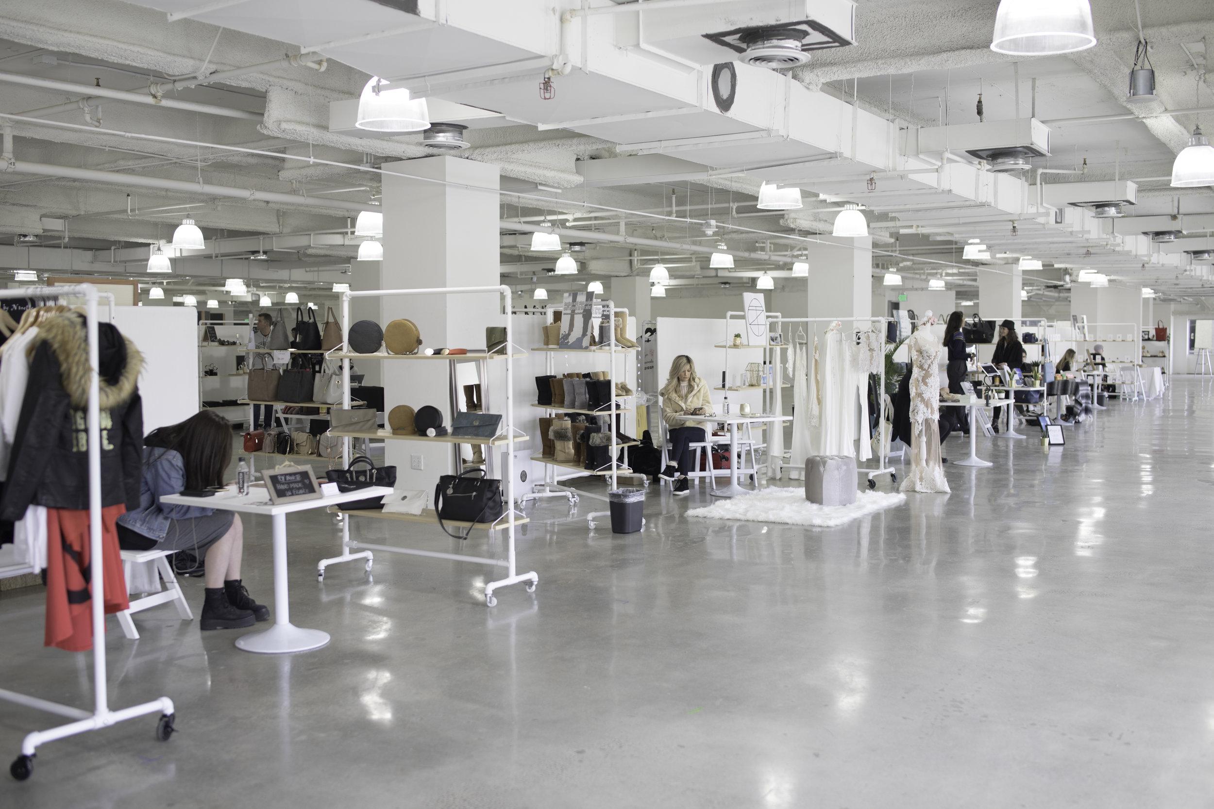 Designer Showroom in the Vegan Lounge