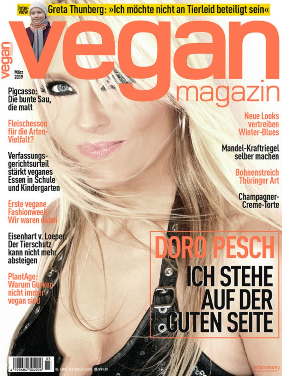 Vegan Magazin Germany - March 2019