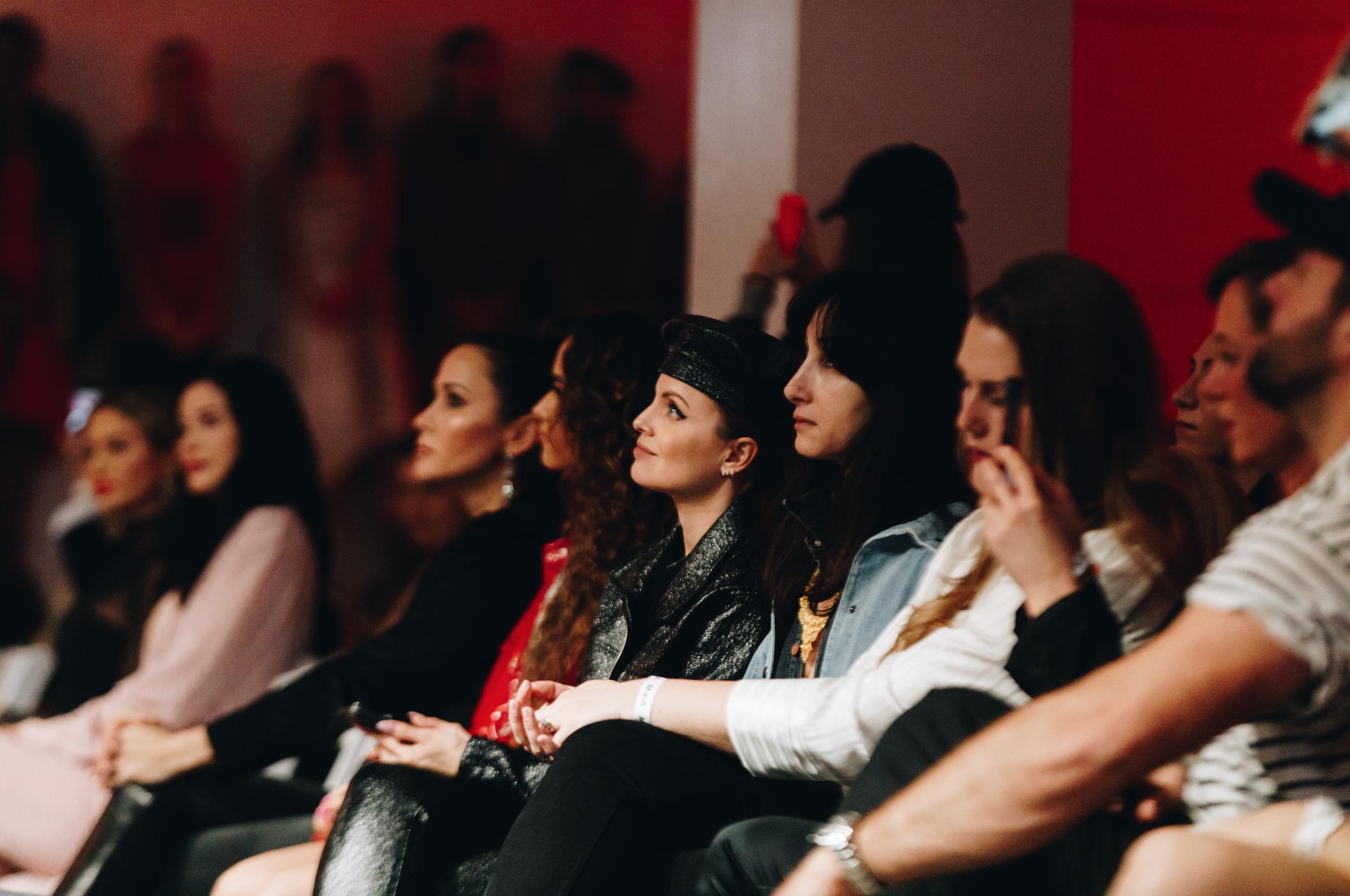 Mena Suvari at Vegan Fashion Week