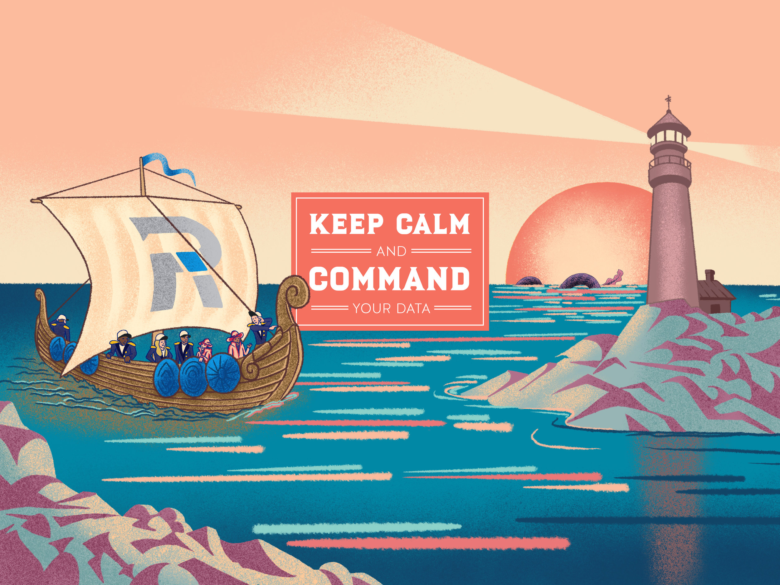 Keep calm and command your data