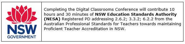 Digital Classrooms Conference - NSW Endorsement.JPG