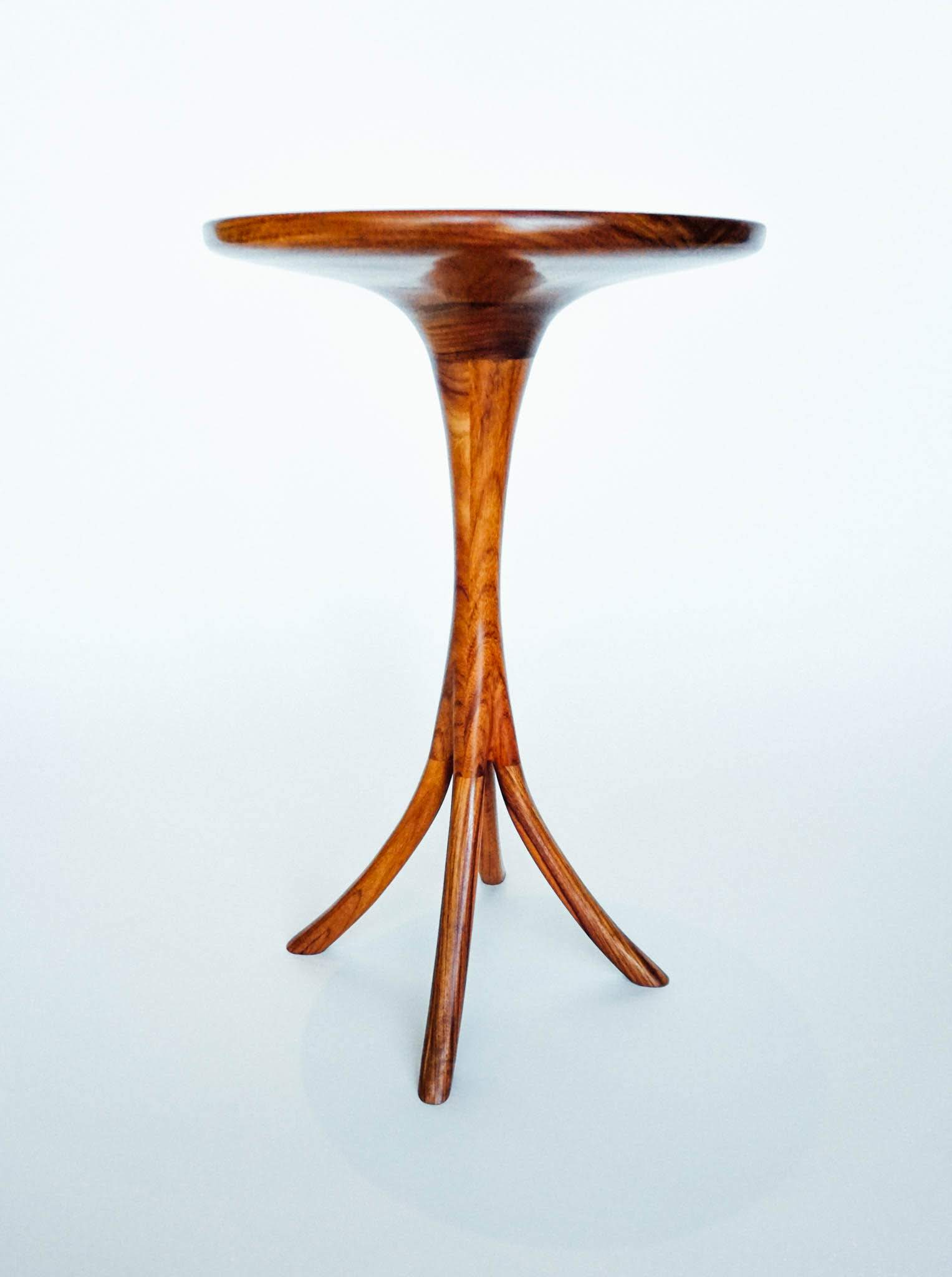 This profile shows the simple organic form of the design.