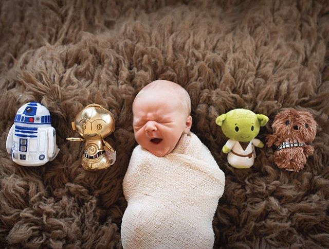 It's a tough life being the newest Jedi on the block 💤 . . . . #raleighnewbornphotographer #newbornphotography #durhamnewbornphotographer #lifestylenewborn #amycarterphotography #wrappednewborn #inhomenewborn #lillingtonnewbornphotography #starwarsbaby #newestjedi #posednewborn #flokati