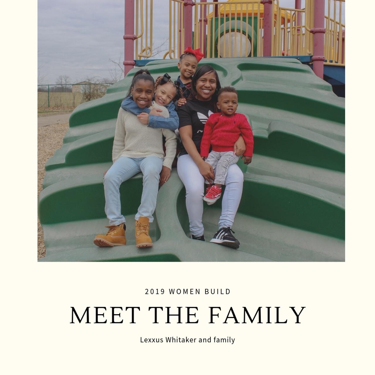 Meet the 2019 Women Build Partner Family