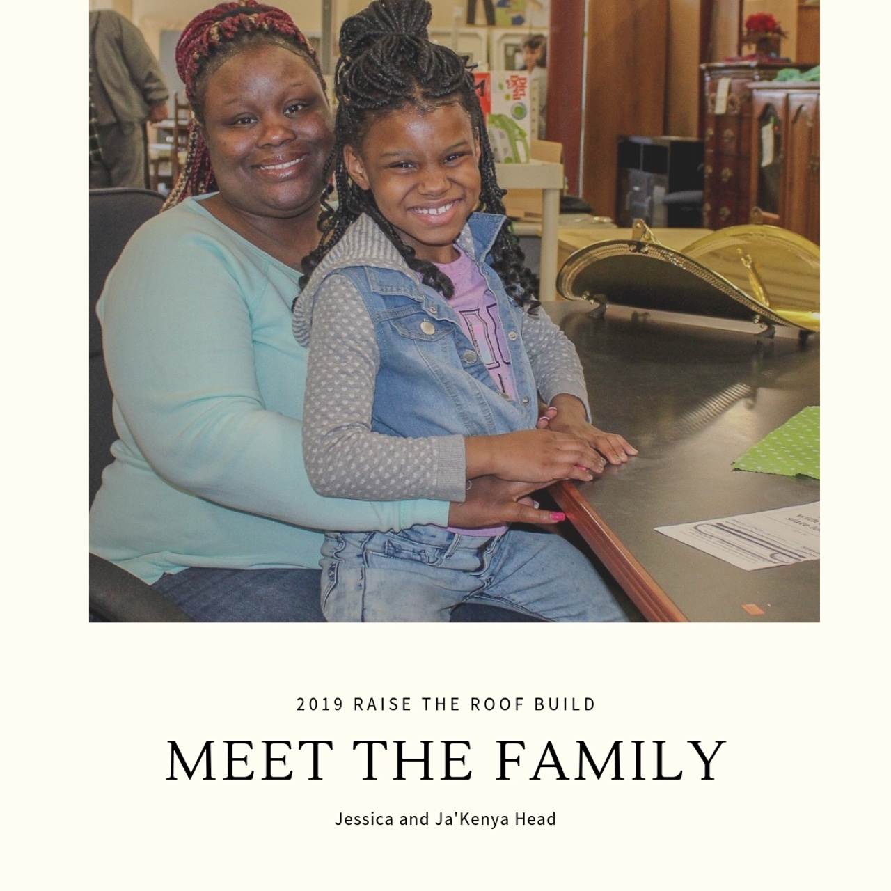 Meet the 2019 Raise the Roof Partner Family