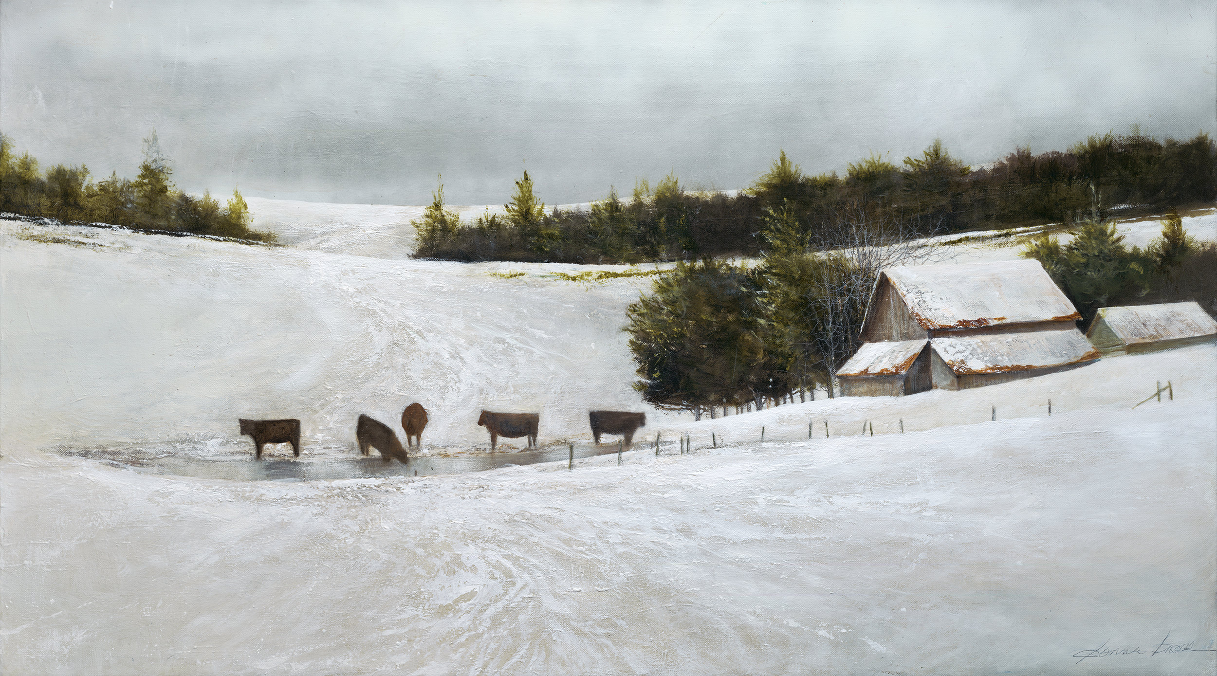donArt cow COW n SNOW 6.25.14.jpg