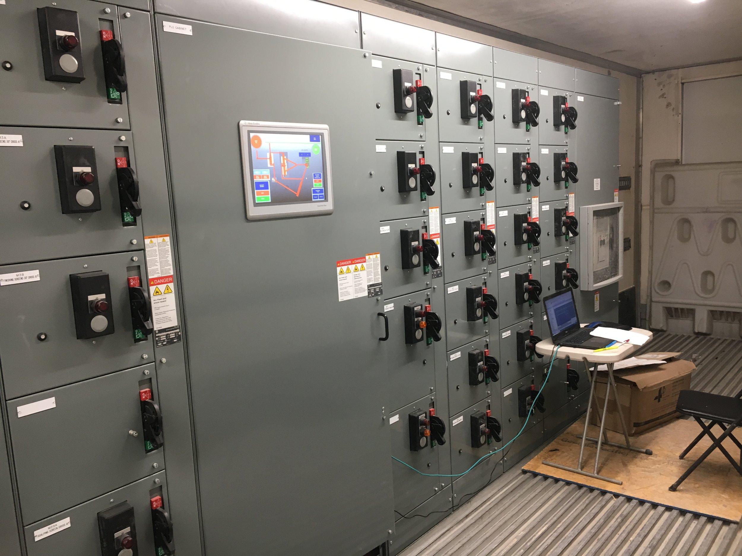 Custom Motor Control centers -