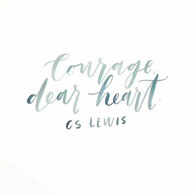 This is one of our favourite quotes. Courage is defined as strength in the face of pain or grief. · · · Not Your Model Minority has met several courageous people since launching our website. · · · Sometimes courage is in the little things like getting out of bed or the big things like telling your parents you need help. Whatever it may be - courage, dear heart.