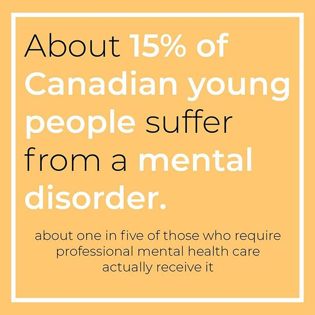 National estimates identify that about 15% of Canadian young people suffer from a mental disorder, but only about one in five of those who require professional mental health care actually receive it.  Over the course of speaking with individuals about their mental health struggles we found that many were too scared to seek professional care. We asked what many thought about therapy and got mixed reviews.  What are your thoughts and opinions about seeking therapy or counselling to better manage your mental health?