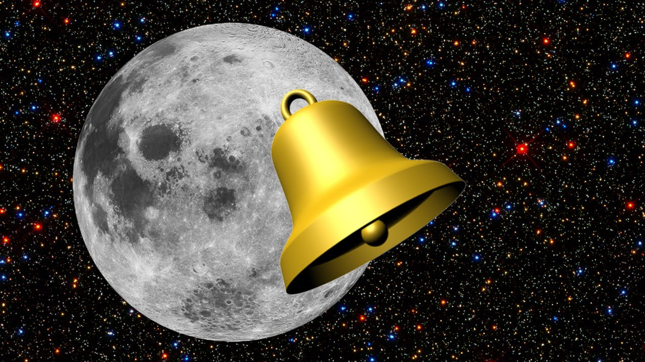 Moon Resonates Or Rings Like A Bell