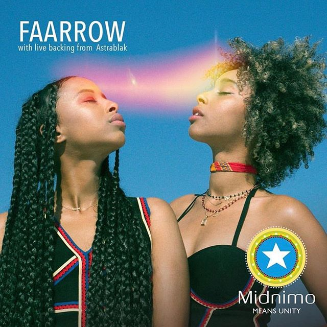 The Cedar & #Midnimo Presents @faarrow with live backing from @astralblakmusic  Friday, April 5th, 2019 at 8:00pm $10 Advance, $15 Day of Show Free at the door with @augsburguniversity ID