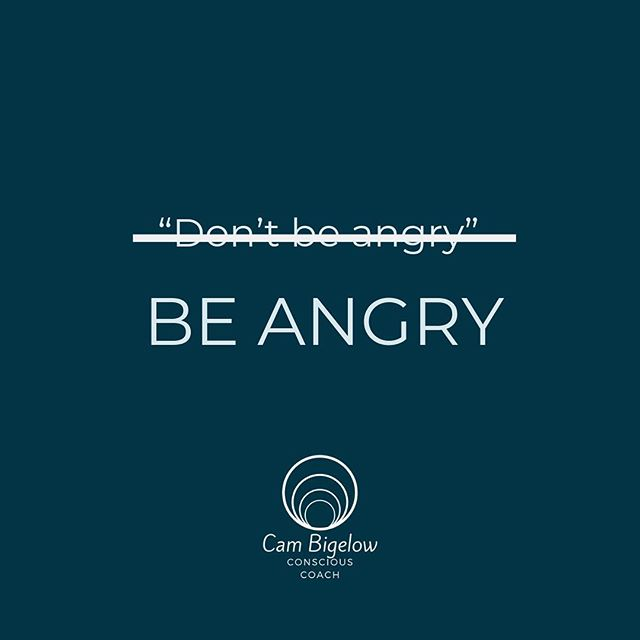 "DIVINE ANGER⠀ ⠀ How many times has someone told you:⠀ ""Don't be angry"" ⠀ ""I'm so glad you're never angry""⠀ ""Ugh I hate it when you're angry""⠀ ⠀ What a load of BS. ⠀ ⠀ Preventing anger is preventing you from being authentic in your voice and true to what your body feels. ⠀ ⠀ Anger is not ⠀ something to shy away from⠀ something to talk down on⠀ something to judge someone on⠀ something to shut down⠀ ⠀ Anger is only dangerous when it's directed and channeled towards someone. ⠀ ⠀ On it's own, anger is a RELEASE of pent up feelings being stored in the body. ⠀ ⠀ As you dig deep and FEEL this anger: ⠀ Let it out. ⠀ Let it permeate every ASPECT of your mind, body, and soul. ⠀ Let it be the catalyst for the internal change you NEED to go through on your journey. ⠀ ⠀ It's all apart of the journey in 🤙🏻"