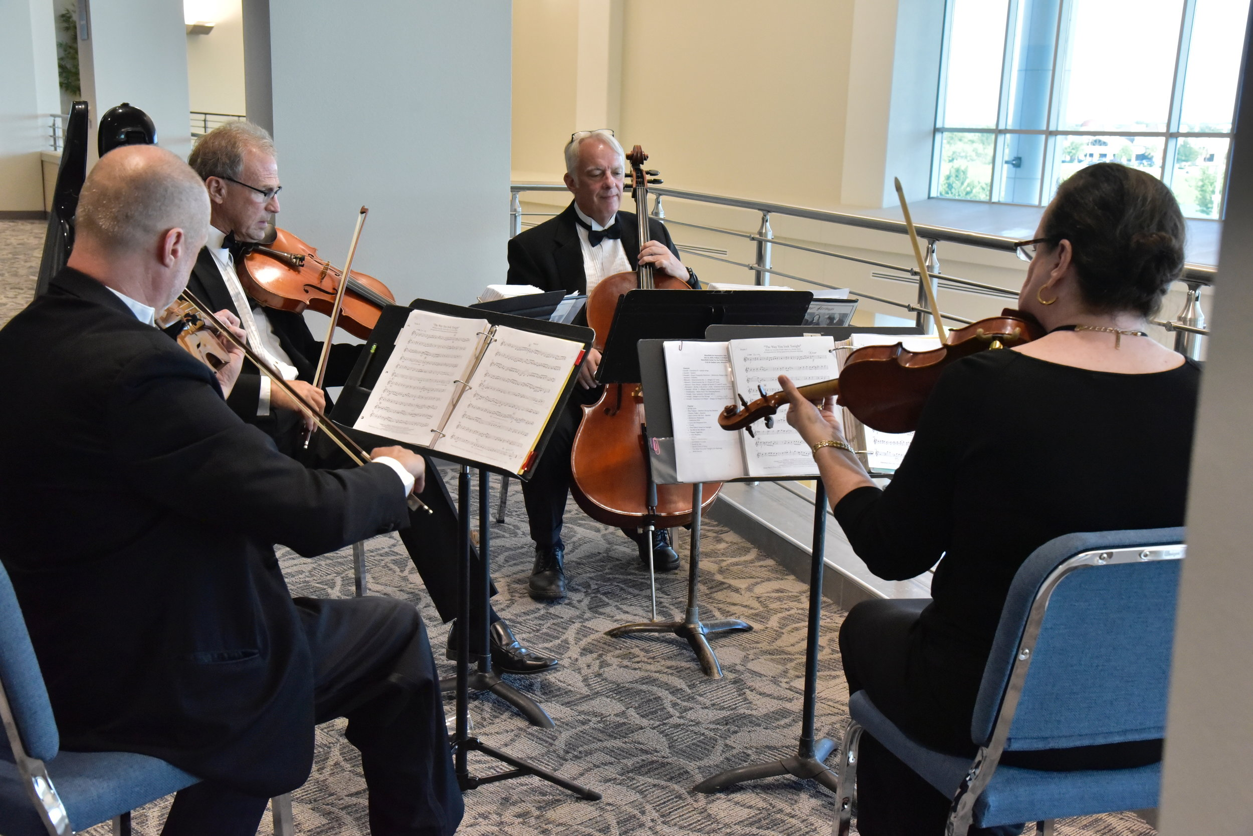 Forte Strings provided a variety of musical genres for the entire evening.