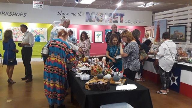 The turnout by the public was good and the grand opening was a huge success for local artists!