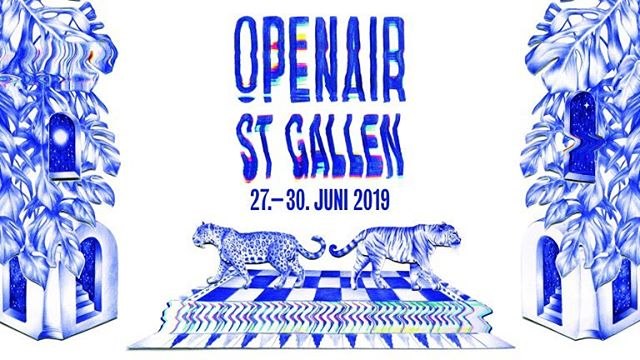 Now you know what we'll be up to on June 29!  Thanks @openairstgallen for inviting us to perform on the campfire stage. 🔥 #cantwait #campfire #stage #openair #livemusic #yey #stgallerbratwurst