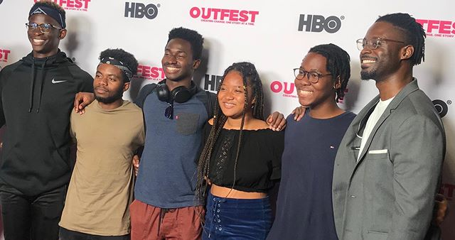 #fbf When a group of African undergrads came out to support the film. ❤️✌🏿