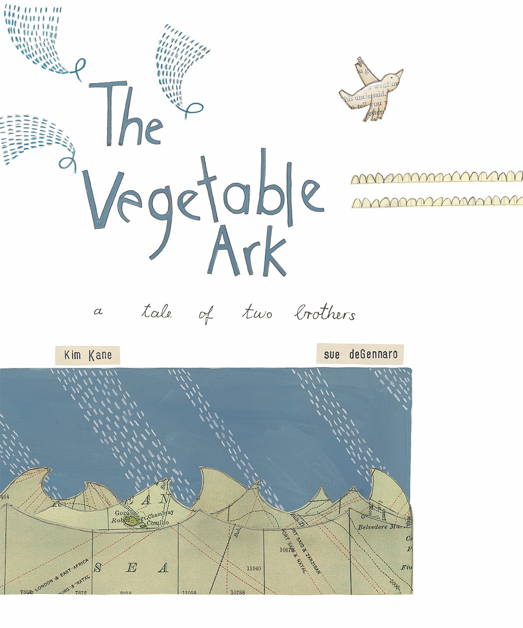 The Vegetable Ark - Kim Kane Sue deGennaro Allen and Unwin