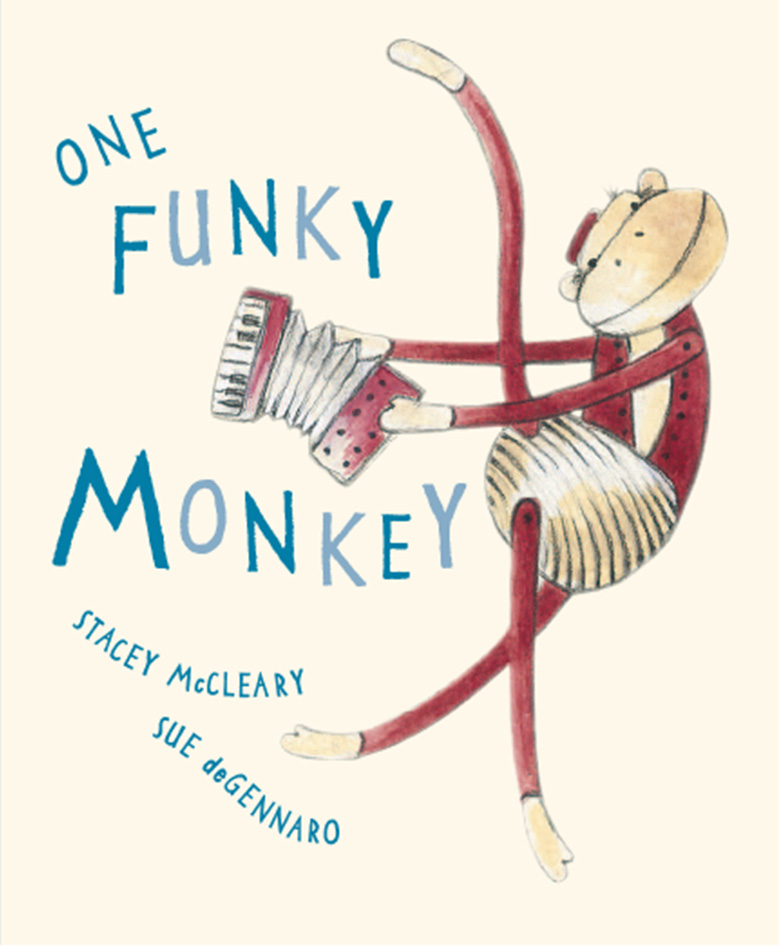 One Funky Monkey - Stacey McCleary Sue deGennaro Walker Books