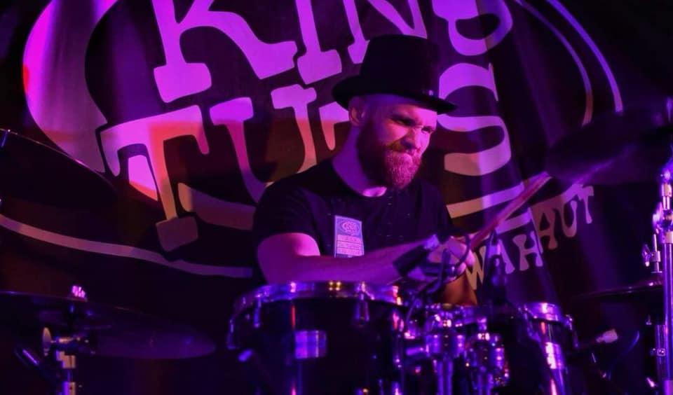 Drummer Mark Turnbull.