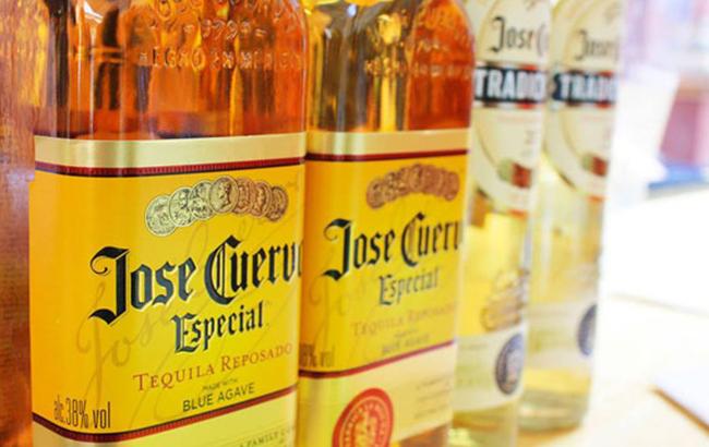 Jose Cuervo's Reposado tequila Especial Gold