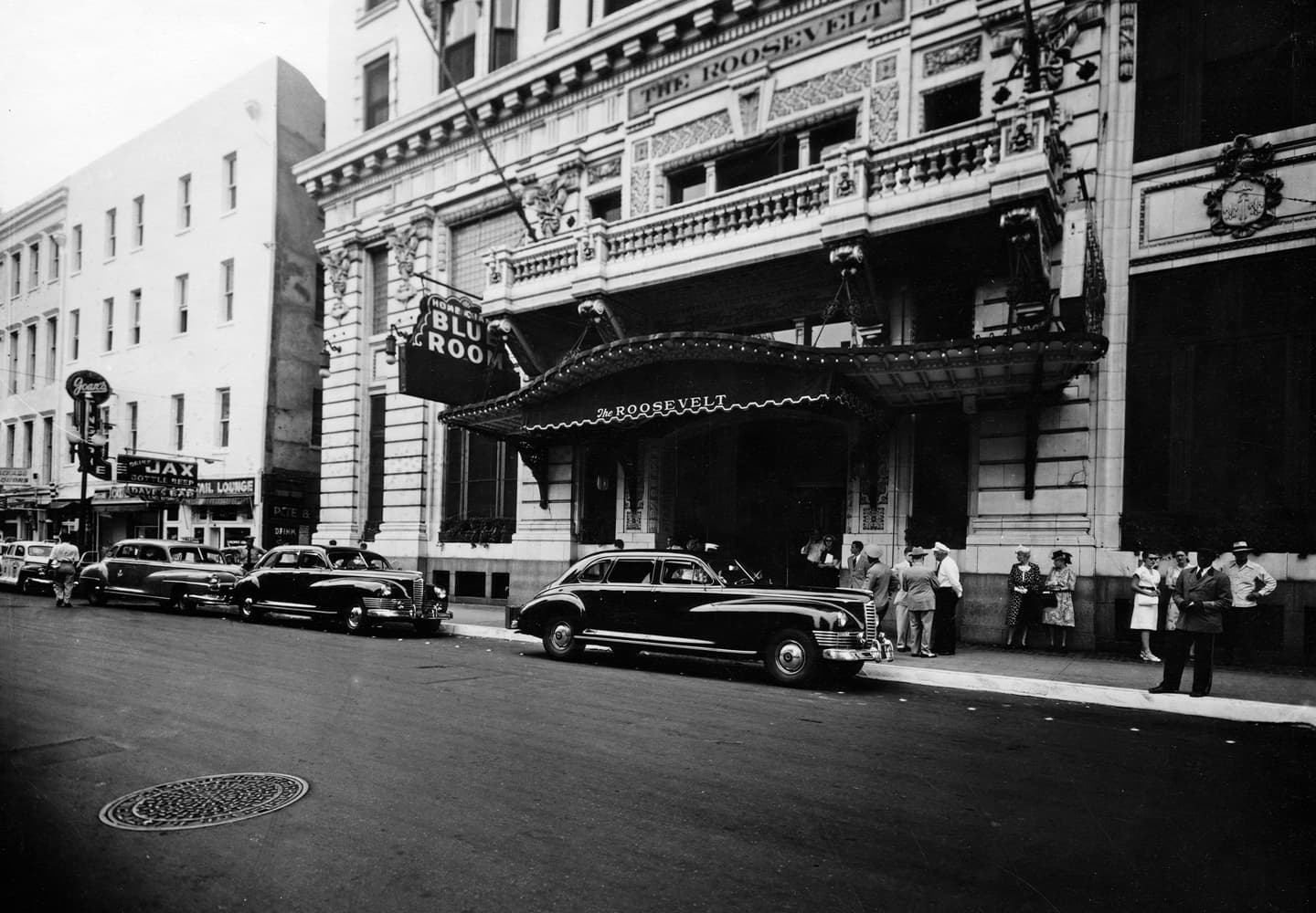 The Roosevelt Hotel, New Orleans, back in the day
