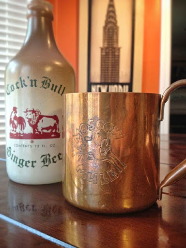 The Cock 'n Bull's own-brand ginger beer for an authentic Moscow Mule
