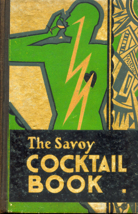 The famous Savoy Cocktail Book (1930) by head barman Harry Craddock