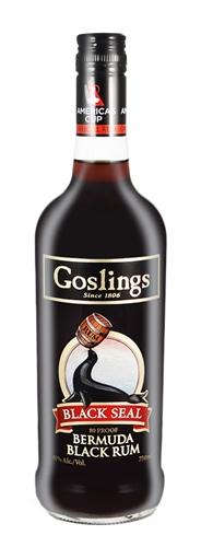 Gosling's Black Seal rum from Bermuda